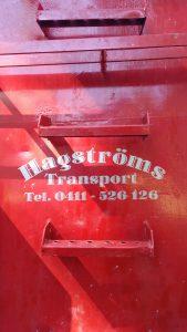 blogg-hagstroms-container